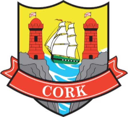 Irish County Car Sticker - Cork