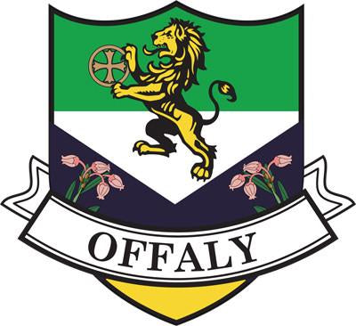 Irish County Car Sticker - Offaly