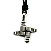 St. Bridget's Cross - Pewter Choker