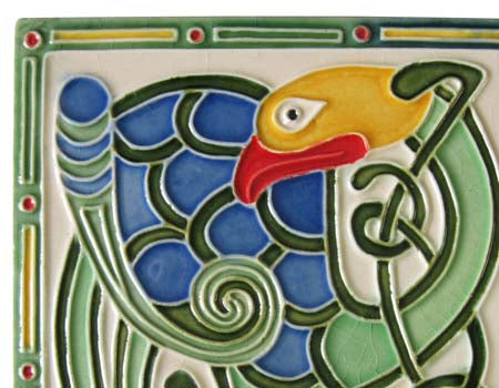 Fáilte Hand Painted Ceramic Celtic Wall Plaque