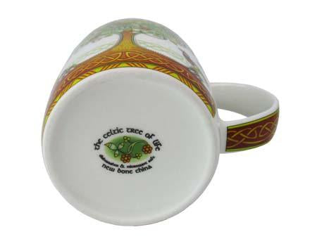 Tree of Life Bone China Mug