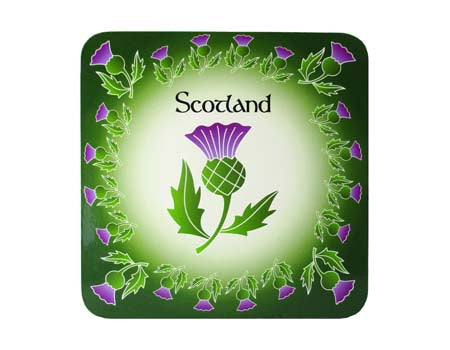 Scottish Thistle Coaster
