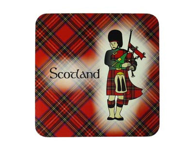 Scottish Piper Coaster