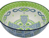 Celtic Cross Ceramic Bowl