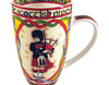 Scottish Piper Bone China Mug