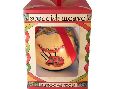 Scottish Bagpipes Ornament