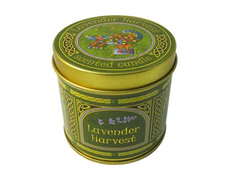 Lavender Harvest Scented Travel Candle