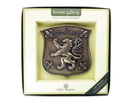 Rampant Lion Plaque