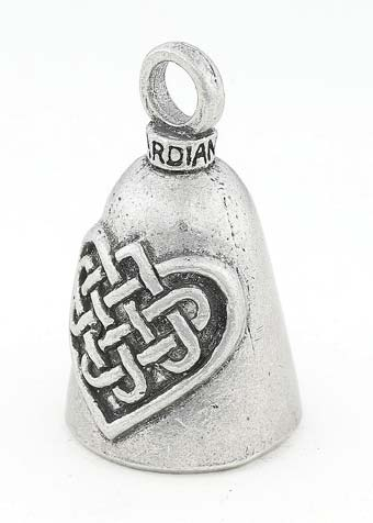 Celtic Heart Guardian Bell