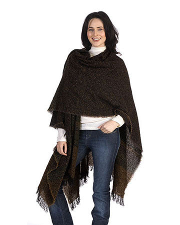 Women's Lambswool Celtic Ruana