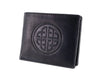 Mens Leather Wallet - Knotwork