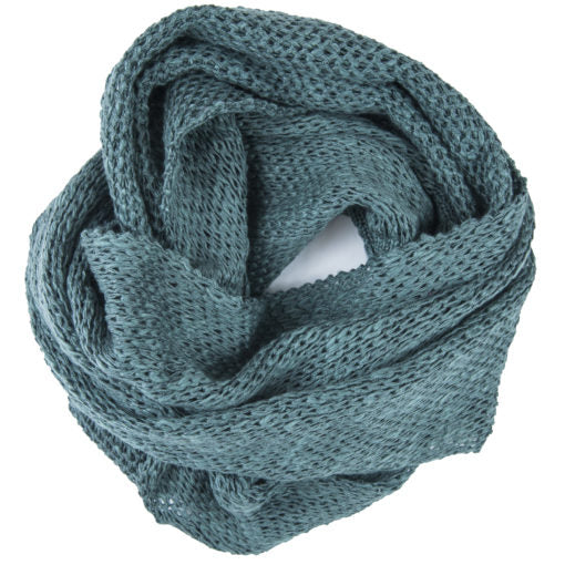 Womens Irish Linen Infinity Scarf