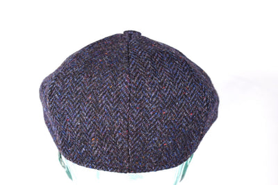Extended Brim - Fitted Newsboy Cap