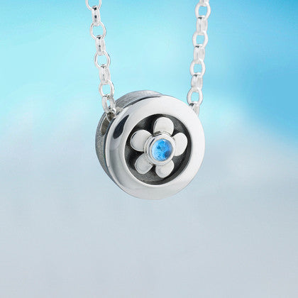 Forget Me Not Pendant by Alan Ardiff