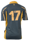 Dark Grey and Gold Guinness Rugby Jersey