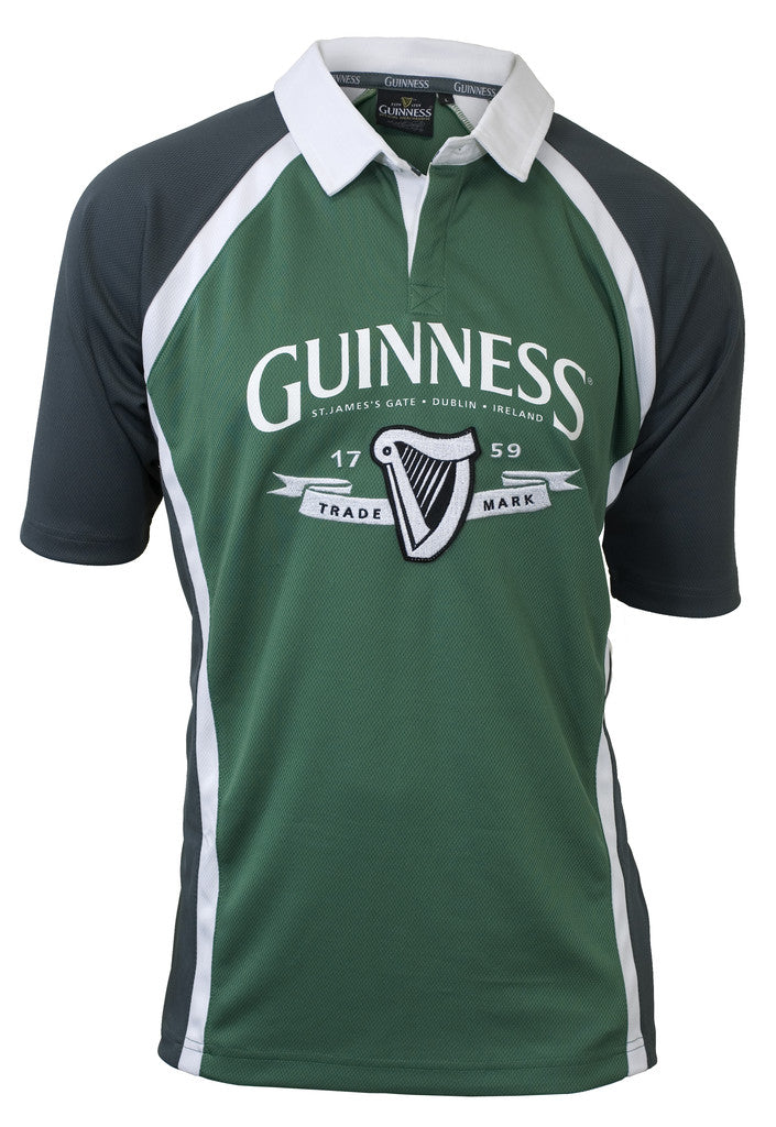 Green and Grey Guinness Ireland Performance Rugby
