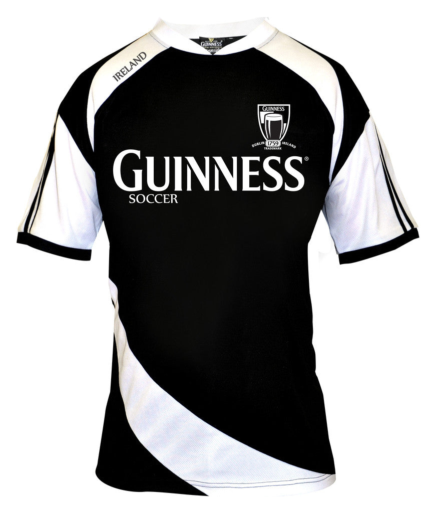 watch 5c72e e8d55 Guinness Black Soccer Jersey - G4500