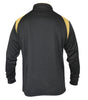 1/2 Zip Black and Gold Fleece by Guinness
