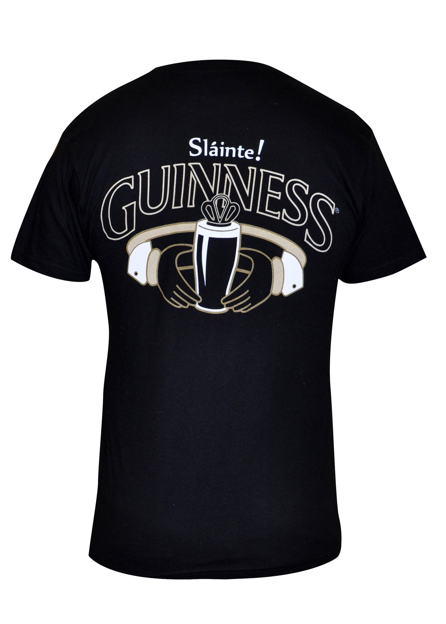 Black Guinness Claddagh T-shirt -G6045