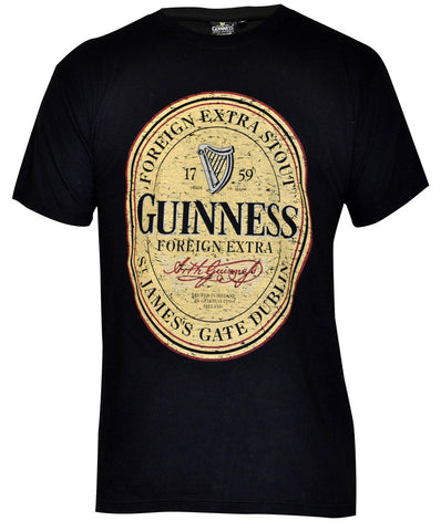 Black and Cream Colored Guinness Rugby Jersey