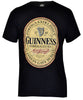 Guinness Distressed English Label T-Shirt - G6054
