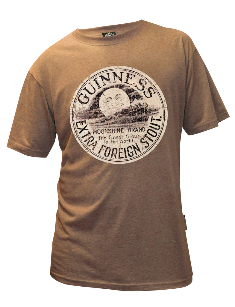 Brown Guinness Moonshine T-shirt