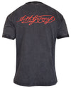 Black Distressed Gaelic Label Tee from Guinness - GC003