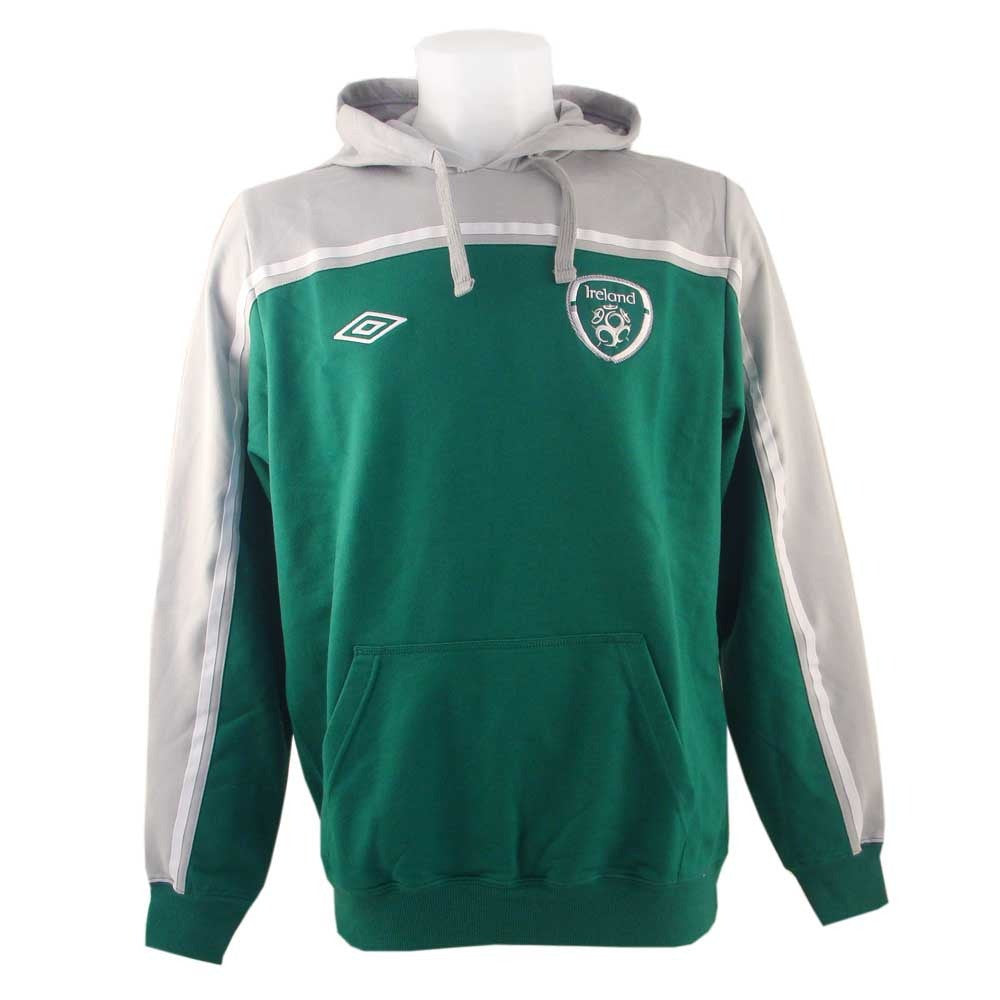 Umbro Ireland Aftermatch Soccer Hoody - Green