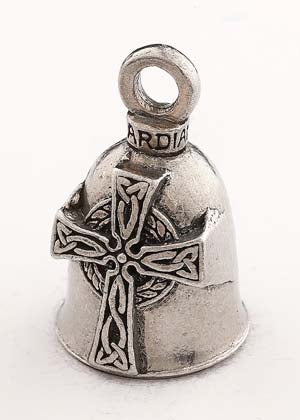 Celtic Cross Guardian Bell