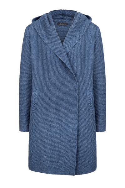 Women's Millford Hooded Links Cable Coat