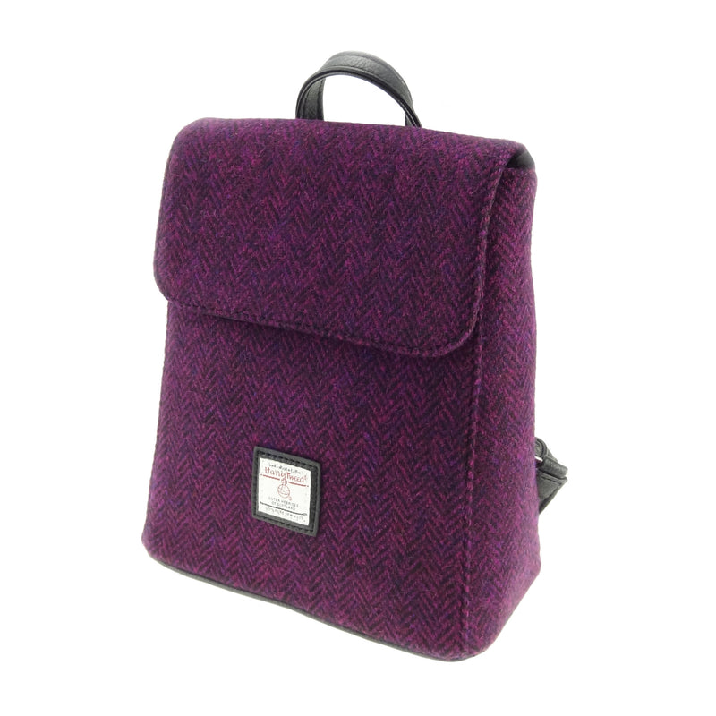 Harris Tweed Mini Backpack - Tummel LB1213