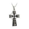 Large Marcasite Cross Pendant S/S - S44480