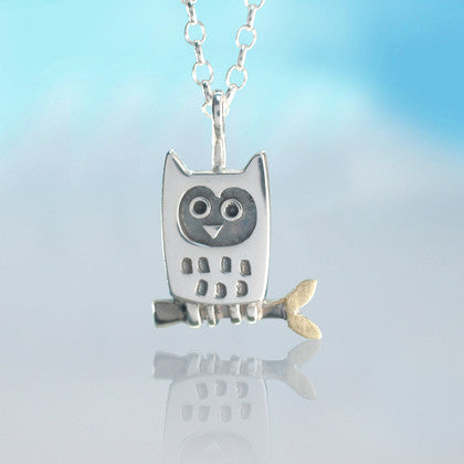 Little Owl Pendant by Alan Ardiff