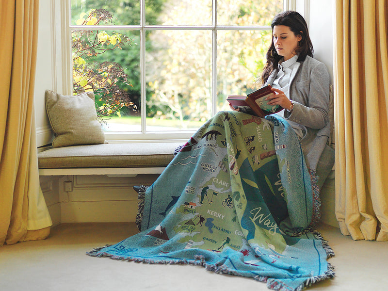 Wild Atlantic Way Throw Blanket