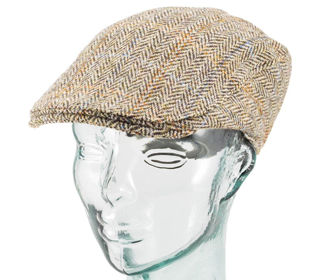 Scottish Harris Tweed - Donegal Touring Cap - Hanna Hats