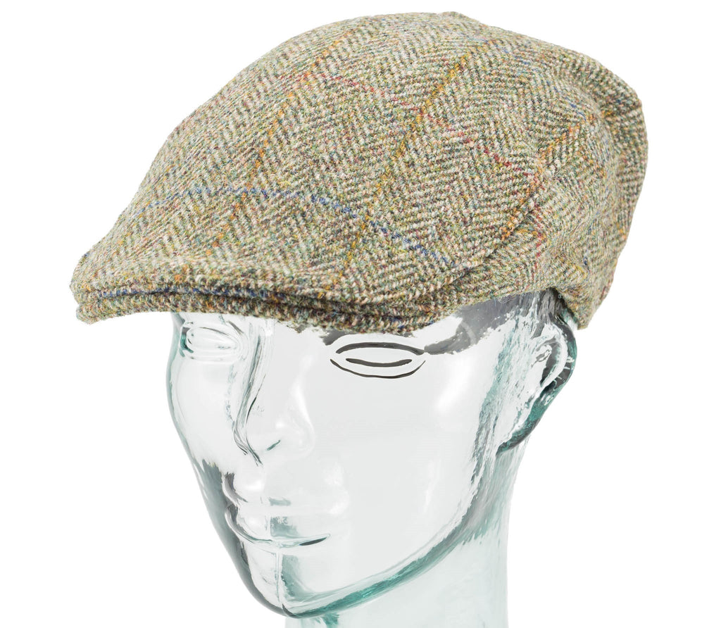Scottish Harris Tweed - Donegal Touring Cap - Hanna Hats – Real Irish 063e02bdea2