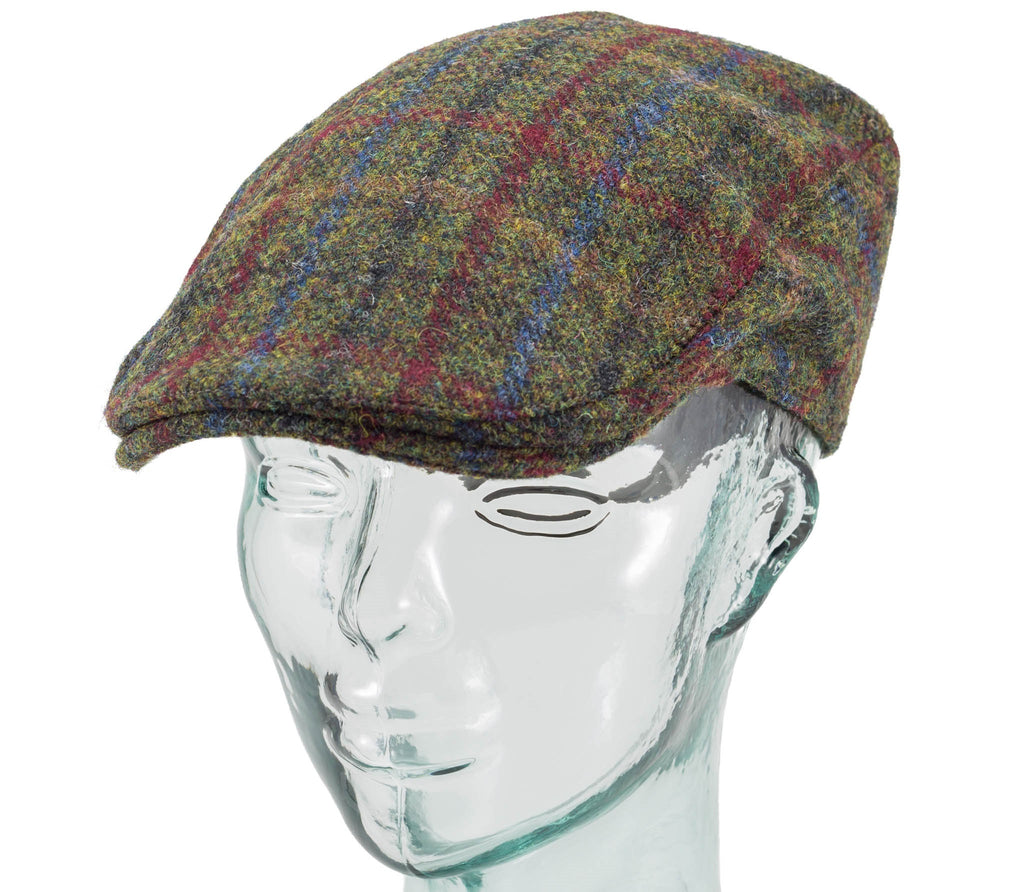 f0cf149ae65 Scottish Harris Tweed - Donegal Touring Cap - Hanna Hats – Real Irish