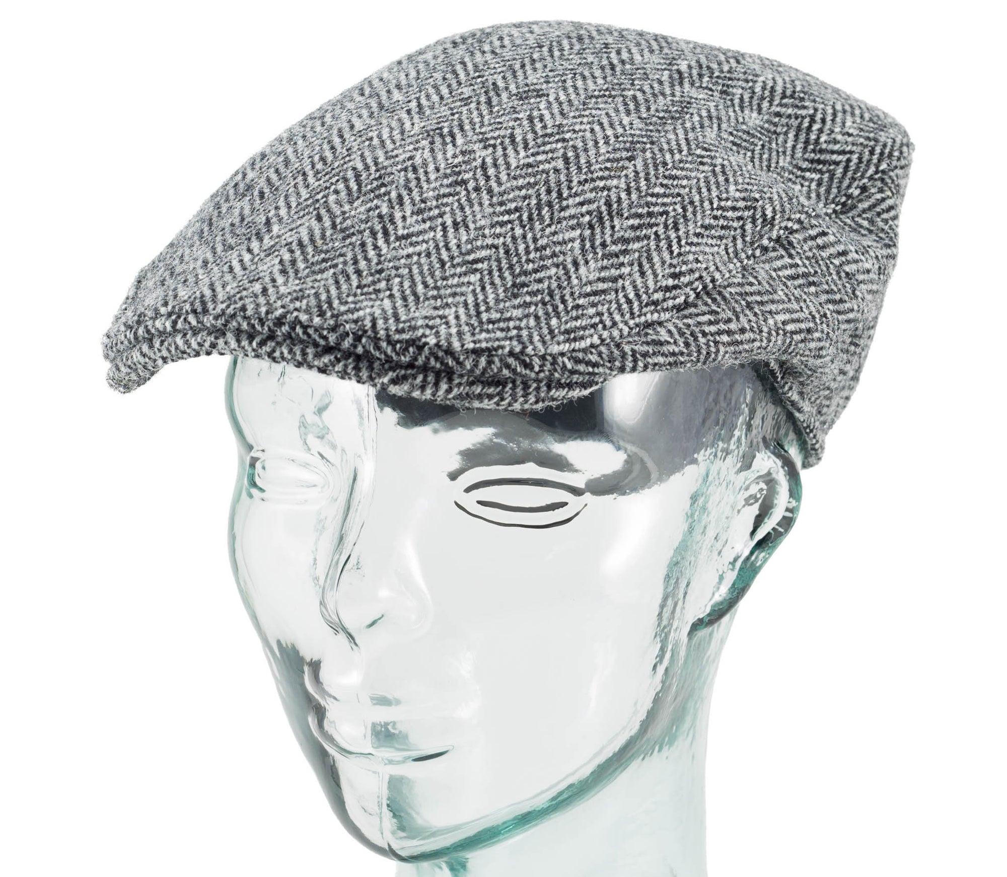 Scottish Harris Tweed - Donegal Touring Cap