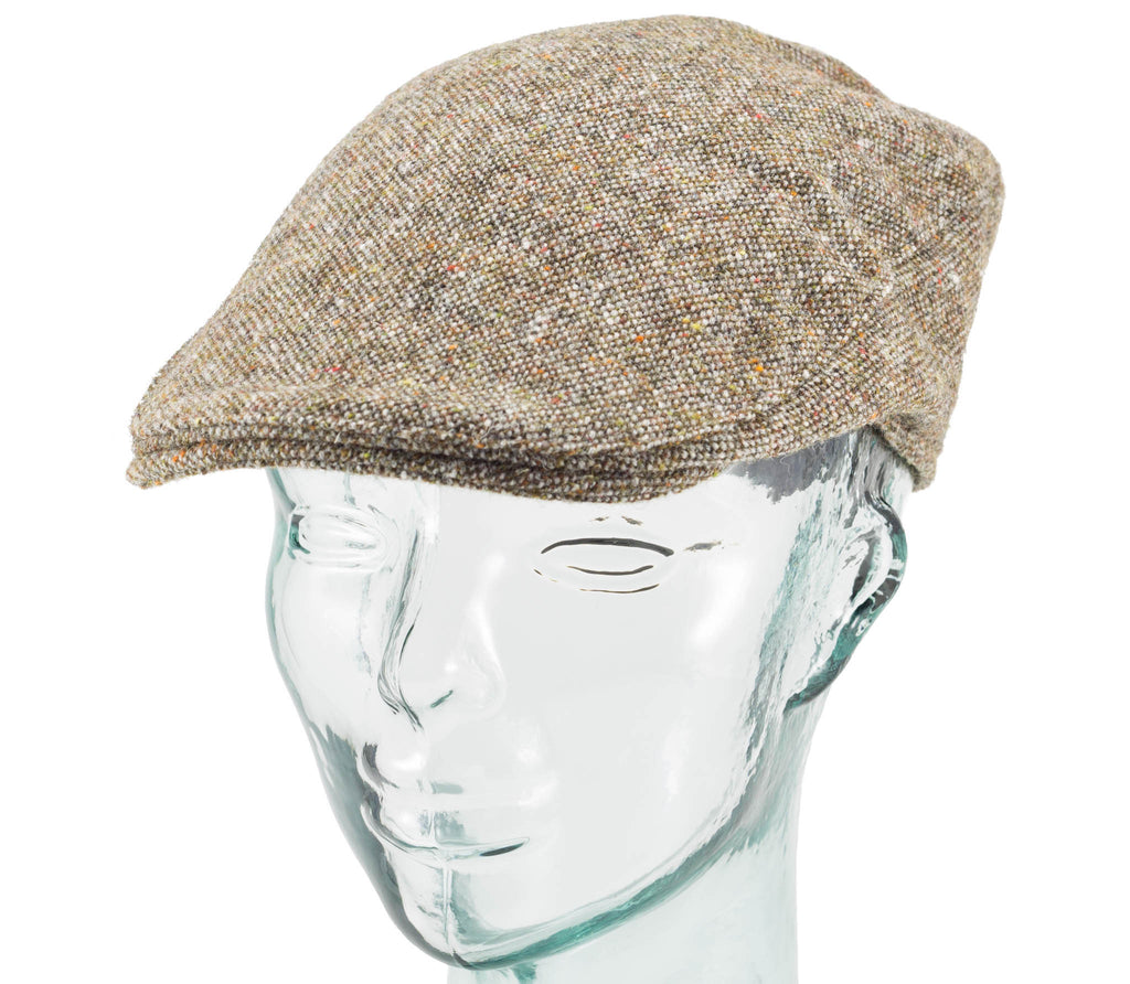 Hanna Hats - Salt & Pepper - Donegal Touring Cap