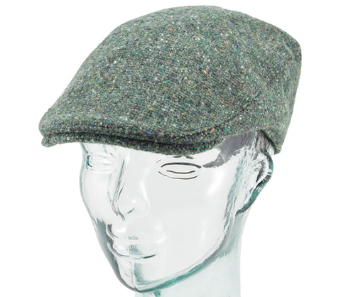 Hanna Hats - Linen Patchwork - Donegal Touring Cap