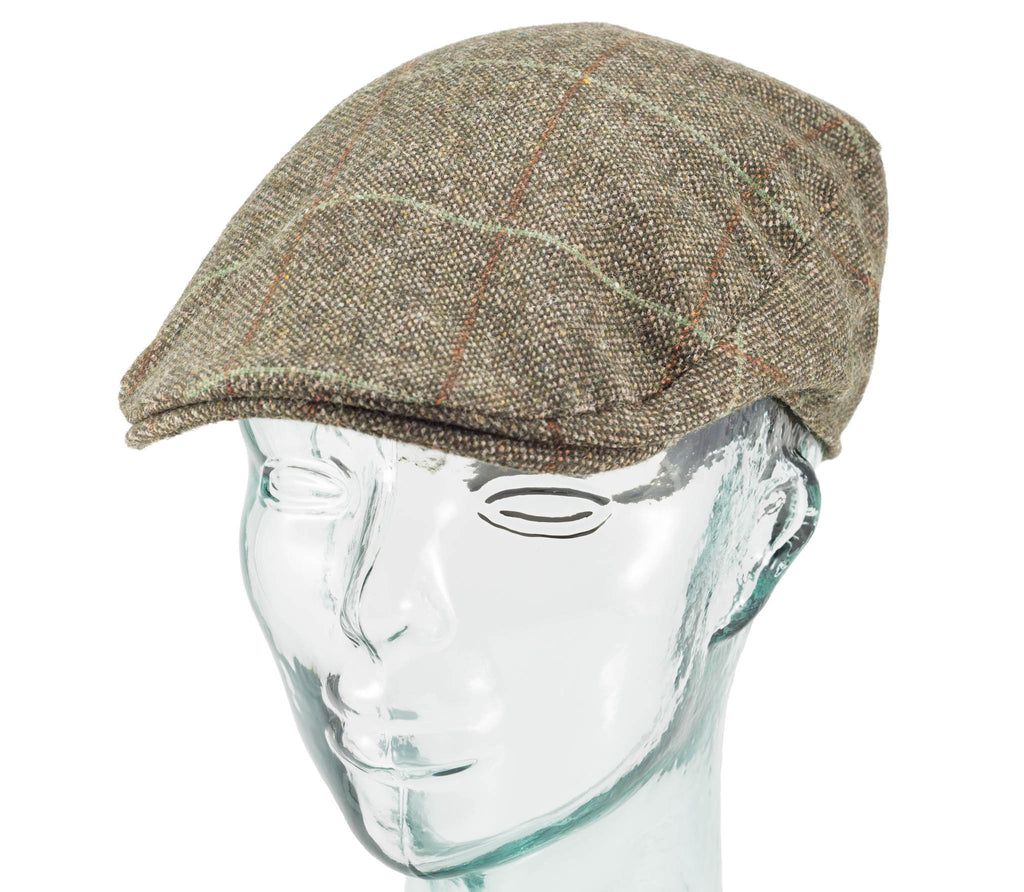 Plaid - Hanna Hats - Donegal Touring Cap