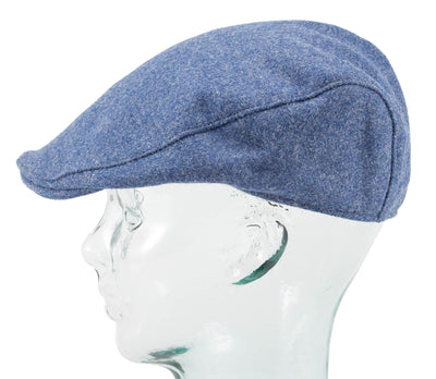 Solid Color Tweed - Donegal Touring Cap
