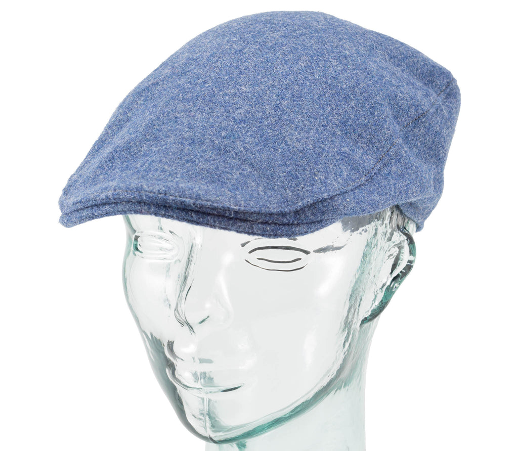 Solid Color Tweed - Hanna Hats - Donegal Touring Cap