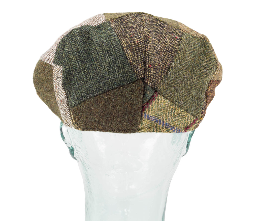 Wool Patchwork - Hanna Hats - Vintage Style Cap