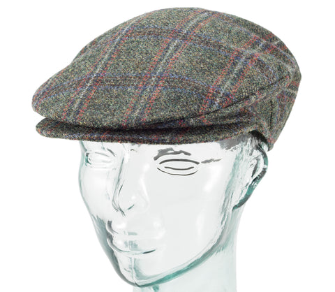 Assorted Tweeds - Hanna Hats - Eight Piece Cap