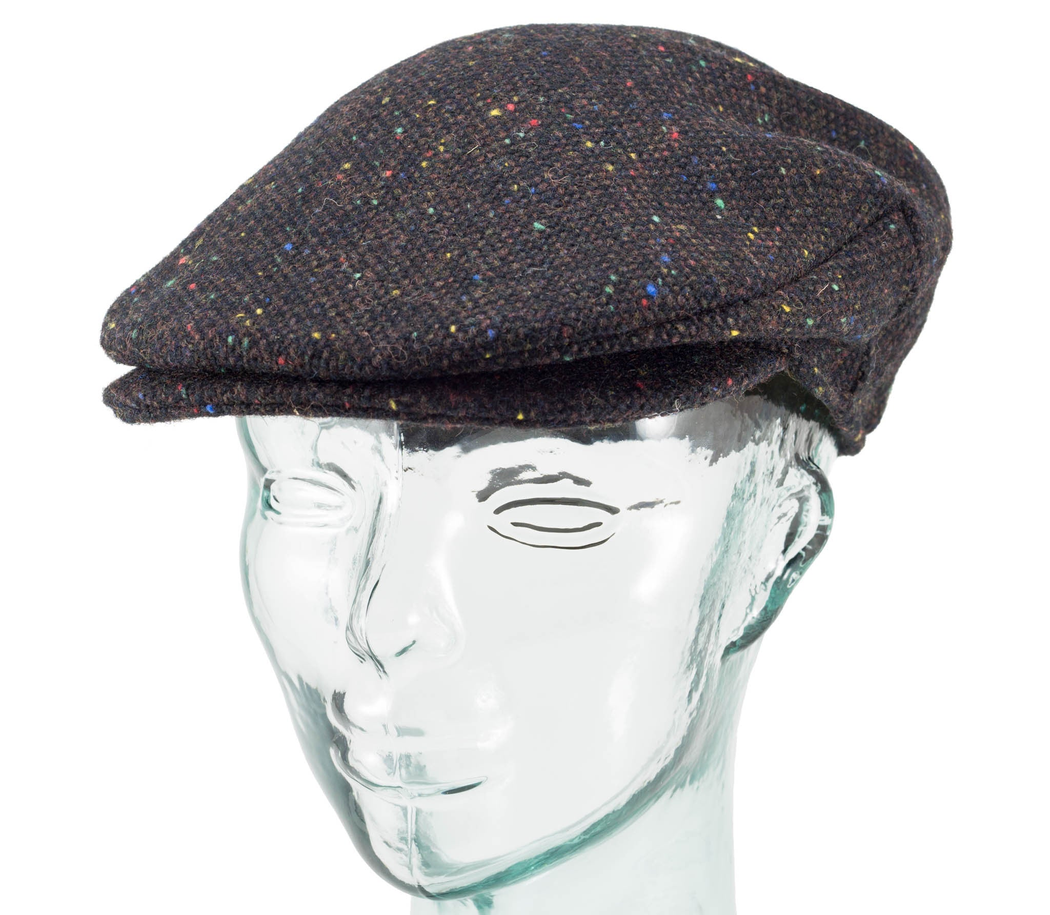 Donegal Tweed - Vintage Style Cap
