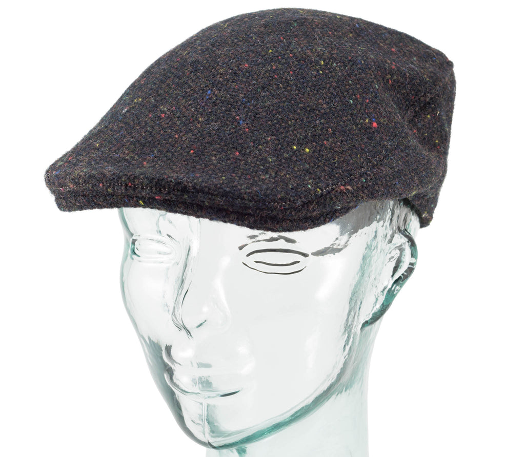 Hanna Hats - Donegal Tweed - Donegal Touring Cap