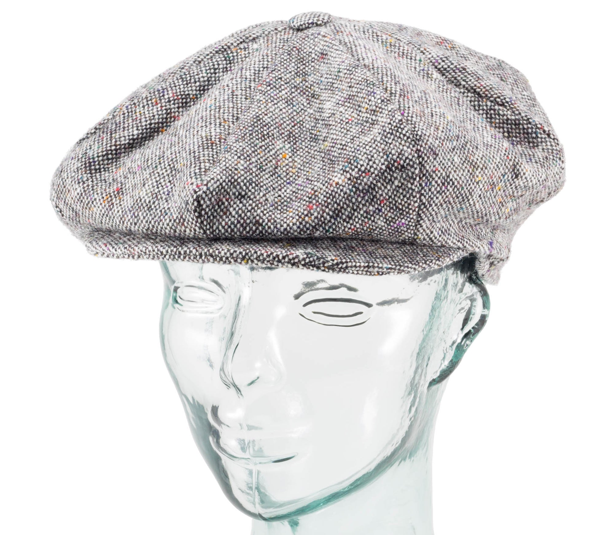 Assorted Tweeds - Eight Piece Cap