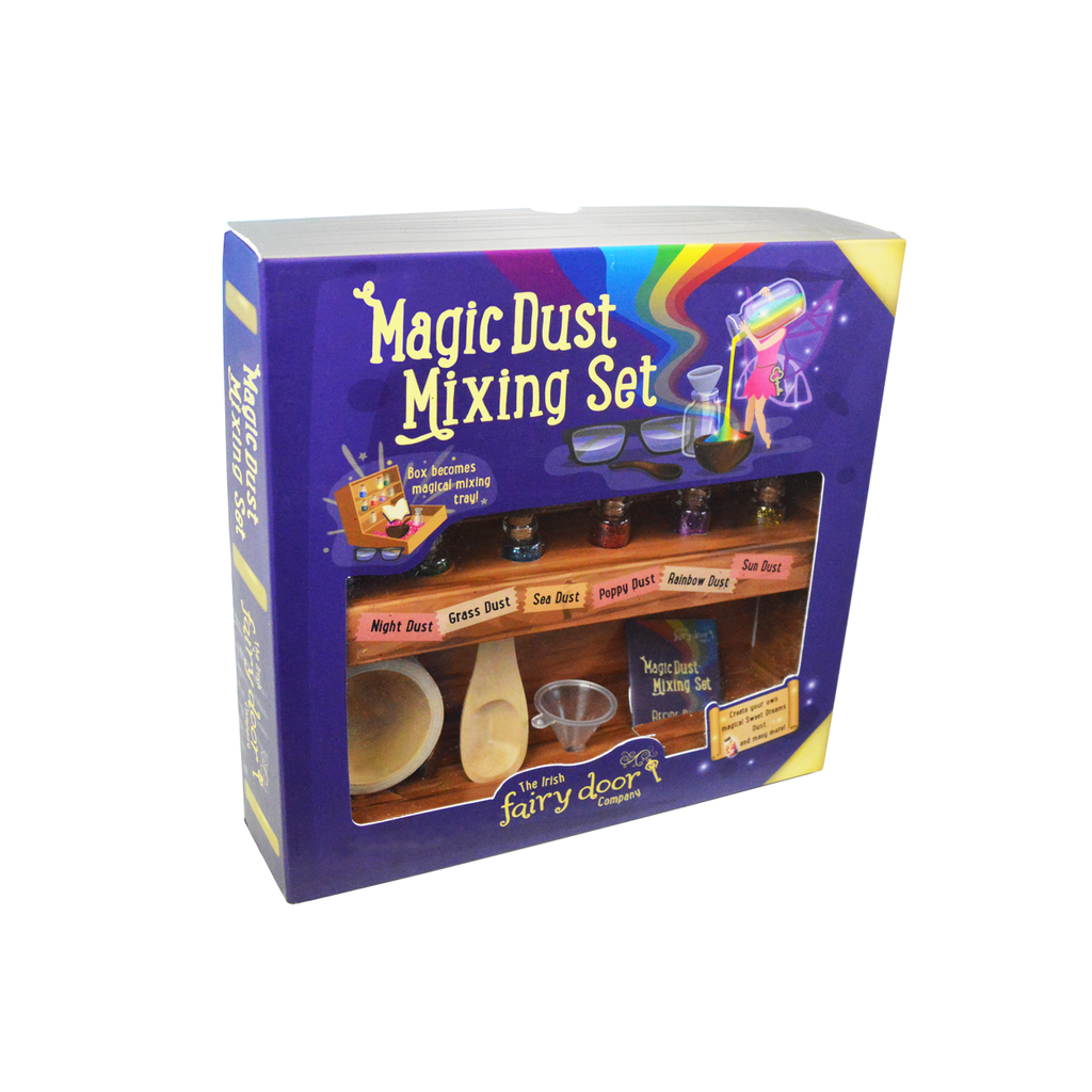 Irish Fairy Door Magic Dust Mixing Set
