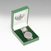 Trinity Knots Design on Pewter Money Clip in Green Gift Box by Mullingar Pewter from Real Irish